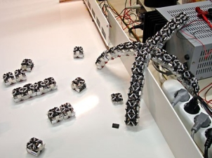 Self-assembling robotics